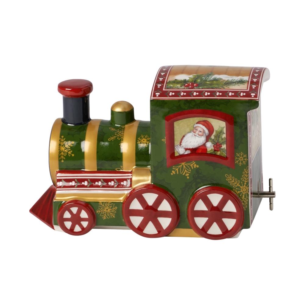 크리스마스 노스탤직 멜로디북극열차 13x8x11.5cm