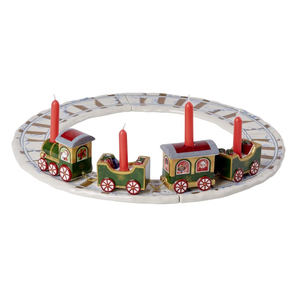 크리스마스 북극열차트레인레일 42cm 4P세트